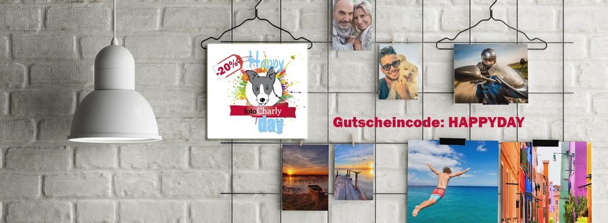 Fotocharly Happy Days - 20% auf Fotos und Poster